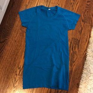 Blue lululemon shirt- size 4
